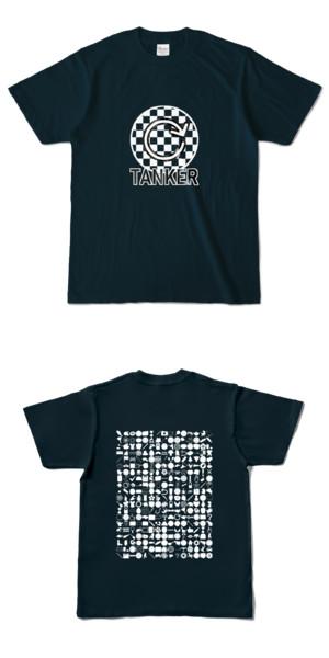 Tシャツ ネイビー 円TANKER