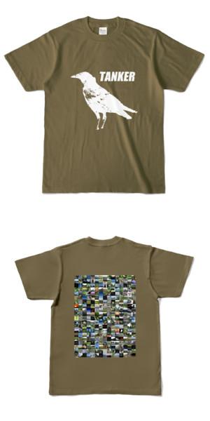 Tシャツ オリーブ CROW★TANKER