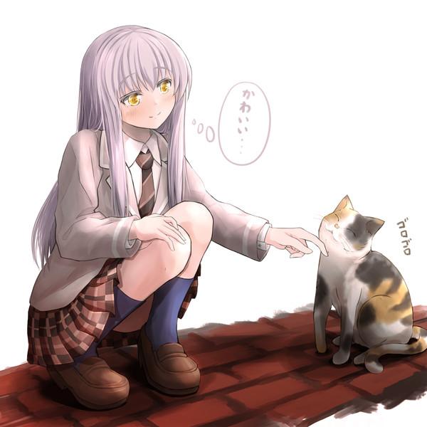 友希那と猫