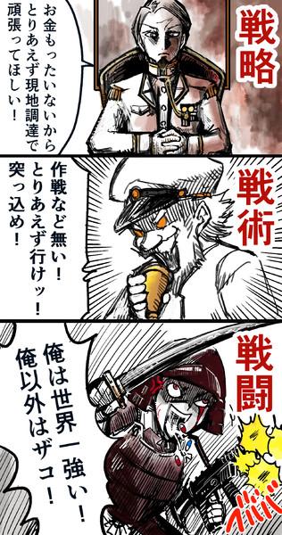 戦略・戦術・戦闘