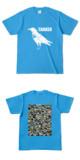 Tシャツ ターコイズ CROW★TANKER