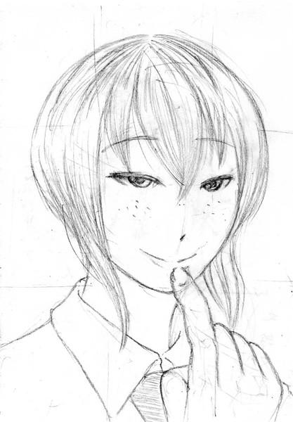 悪そうな顔の田中真子さん