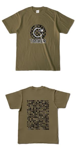 Tシャツ オリーブ 円TANKER