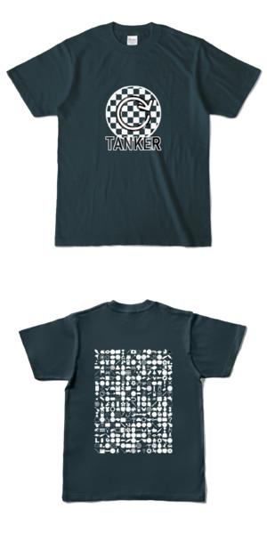 Tシャツ デニム 円TANKER