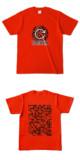 Tシャツ レッド 円TANKER