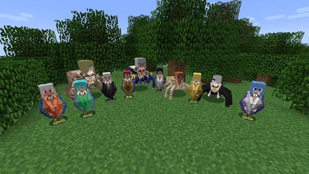【Minecraft】アラクネさん追加【TameableArachne】