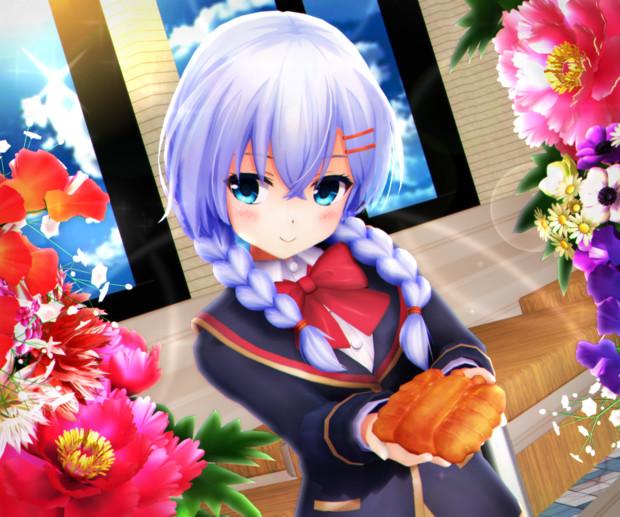 【かにフレ!】ふみおちゃんと かにパン…♡