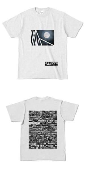 Tシャツ アッシュ TANKER-B.MOON