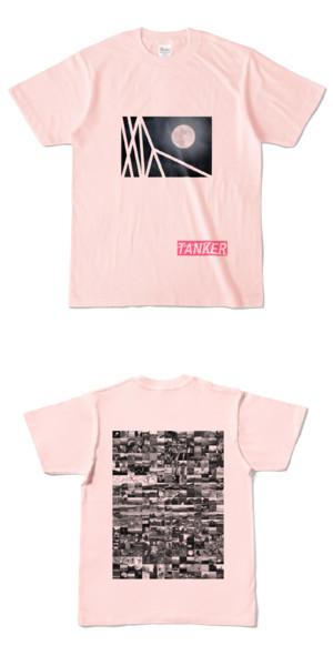 Tシャツ ライトピンク TANKER-B.MOON