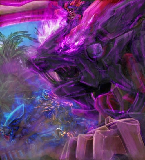 黒獅子襲来 ライガーイーヴィル