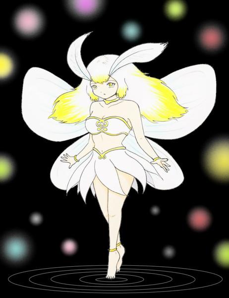 白い蛾の妖精