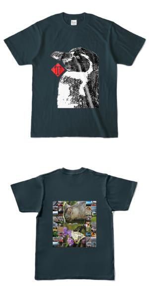Tシャツ デニム TTペンギン
