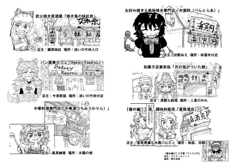 【二次設定】幻想郷グルメスポット