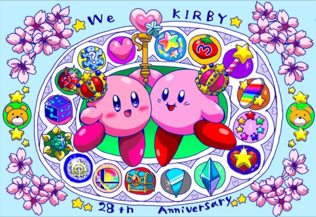 ✨Happy Birthday Kirby 2020!!!!!