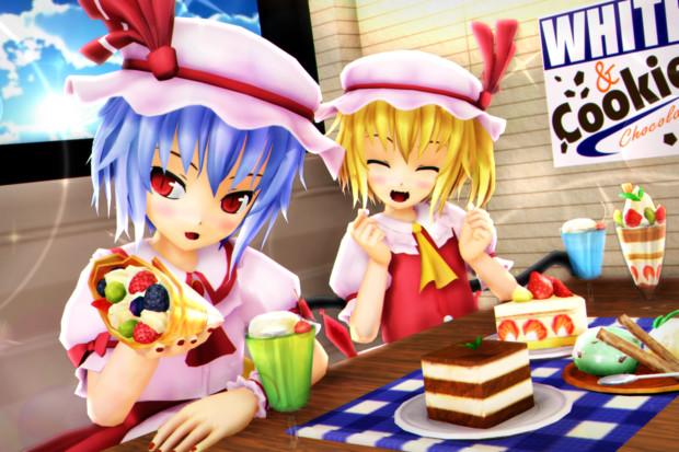 【レミフラ!】クレープとケーキで げんきいっぱい♪