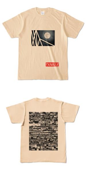 Tシャツ ナチュラル TANKER-B.MOON