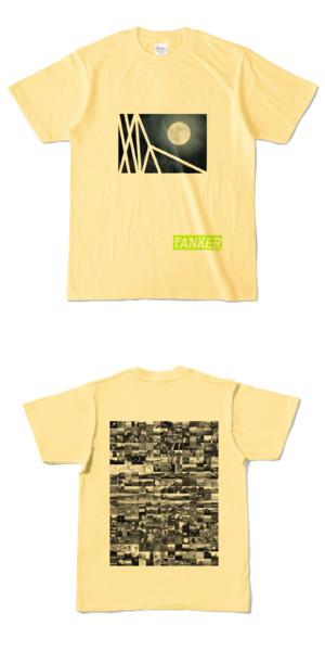 Tシャツ ライトイエロー TANKER-B.MOON