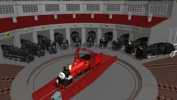 【MMD-OMF10】C56型蒸気機関車【モデル配布】