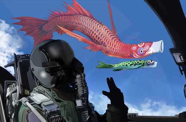 鯉のぼり♪
