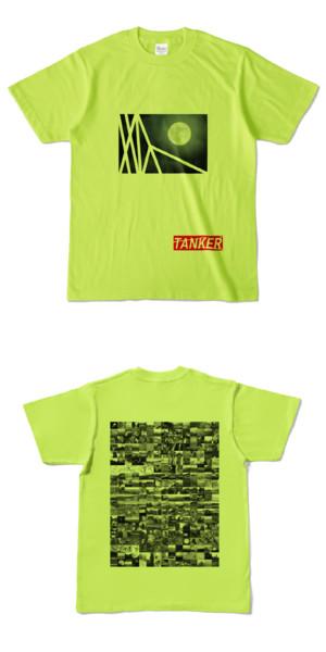 Tシャツ ライトグリーン TANKER-B.MOON
