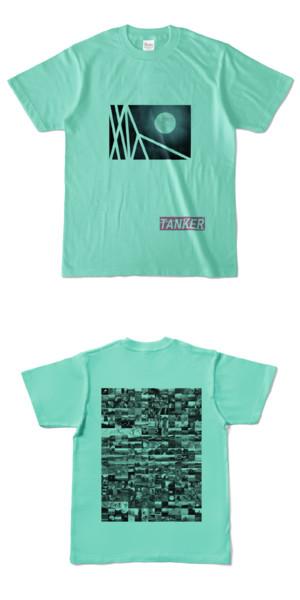 Tシャツ アイスグリーン TANKER-B.MOON