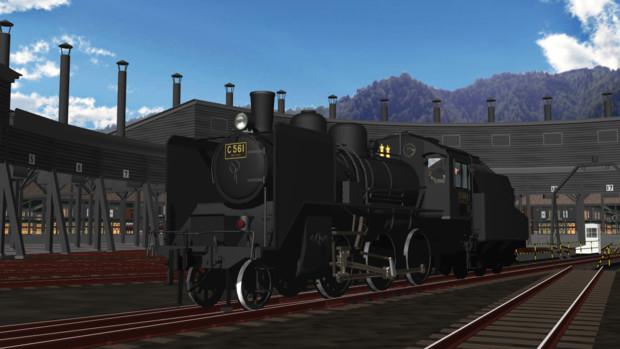 【モデル配布あり】C56 1号機【MMD鉄道】