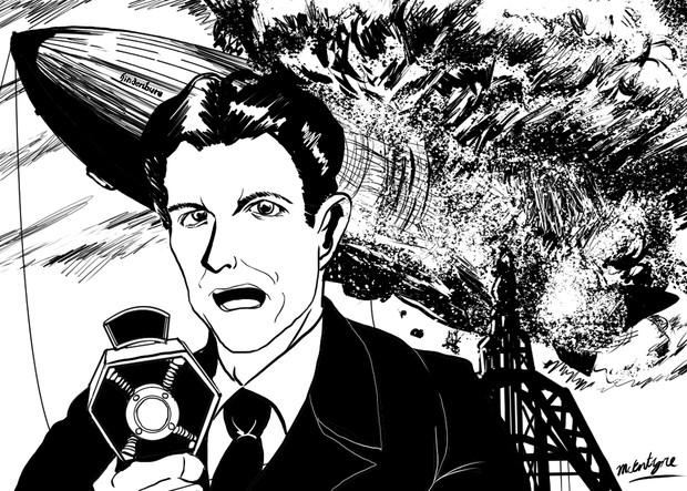 ヒンデンブルク号爆発事故を実況した男~ラジオアナウンサー ハーブ・モリスン