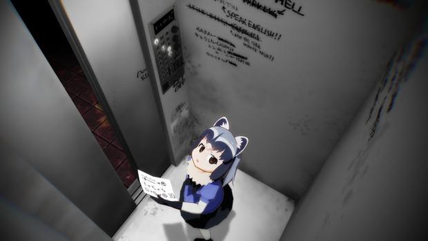 【MMD-OMF10】エレベーター【MMDステージ配布】