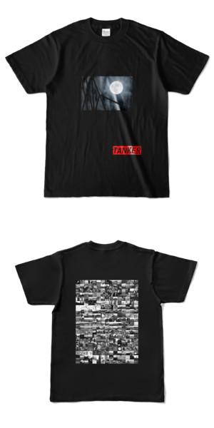 Tシャツ ブラック TANKER-B.MOON
