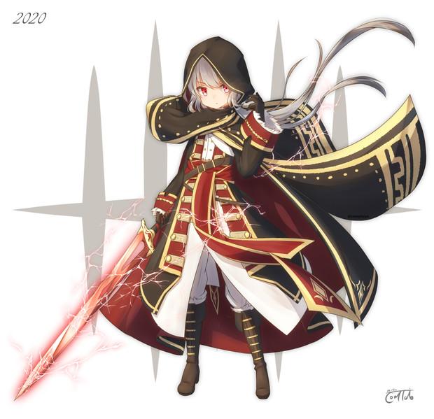 暗黒剣士の少女