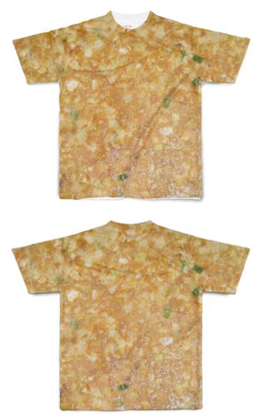 Tシャツ フルグラフィック チヂミ