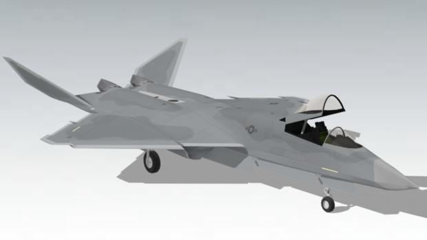 【モデル配布】F-23A