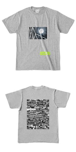 Tシャツ 杢グレー TANKER-B.MOON