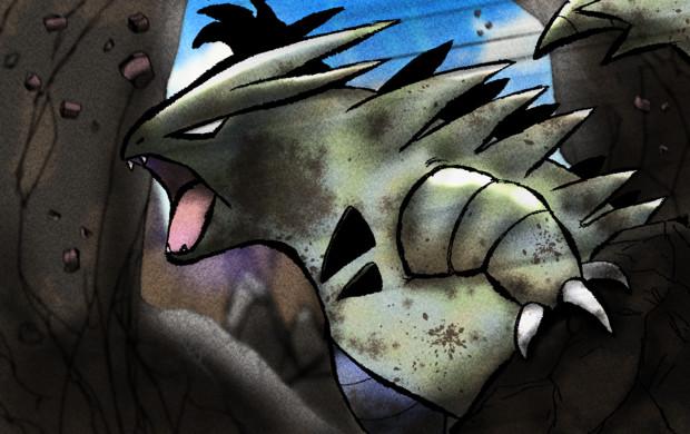 野生のバンギラス