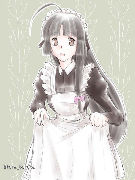メイド祥鳳さん。