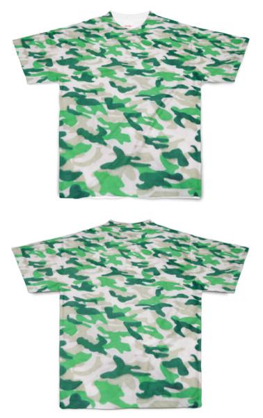 Tシャツ フルグラフィック 迷彩ホルスタイン