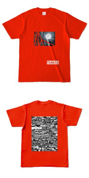 Tシャツ レッド TANKER-B.MOON