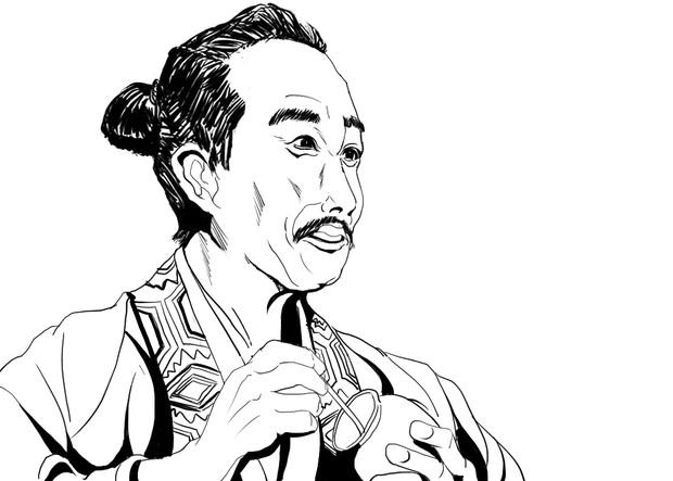 心優しき光秀の叔父~明智 光安(演:西村まさ彦)