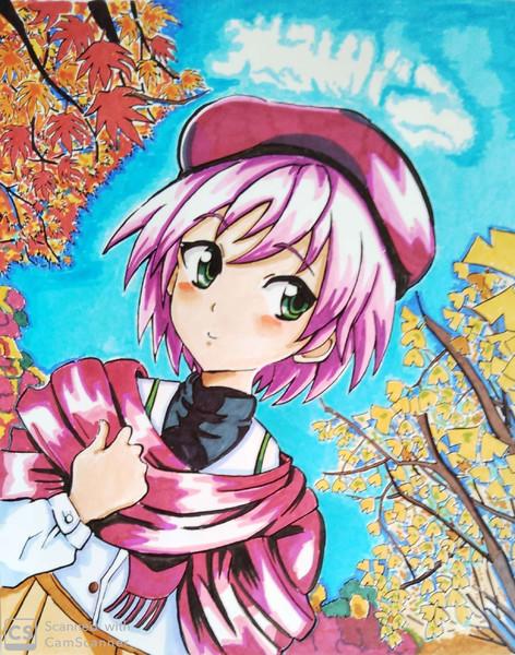 八重花桜梨(やえかおり)