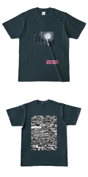 Tシャツ デニム TANKER-B.MOON