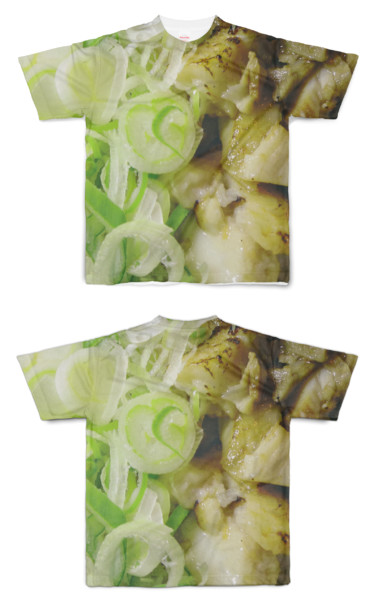 Tシャツ フルグラフィック ねぎチャーシュー