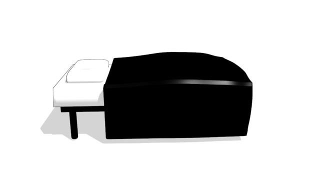 魔狐十シンプルベッド