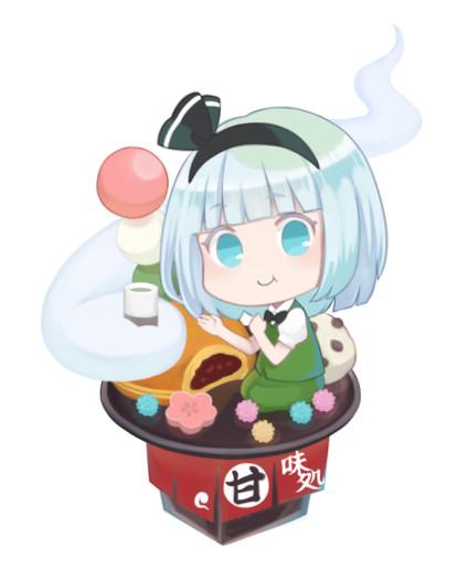 和菓子と妖夢