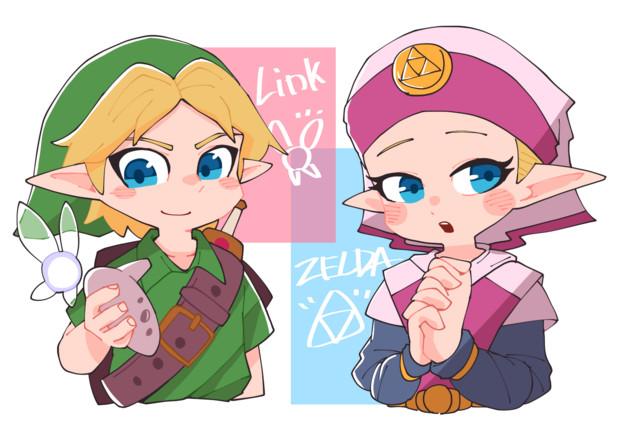 ゼルダとリンク