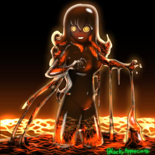 Magma slime