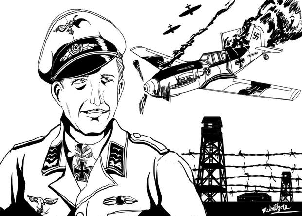 脱走四万キロ~ドイツ帝国空軍フランツ・フォン・ヴェラ