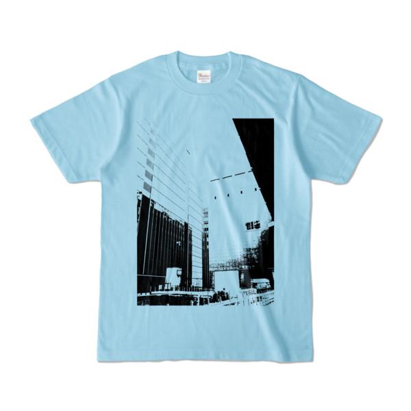 Tシャツ ライトブルー Shinjuku_HONYA