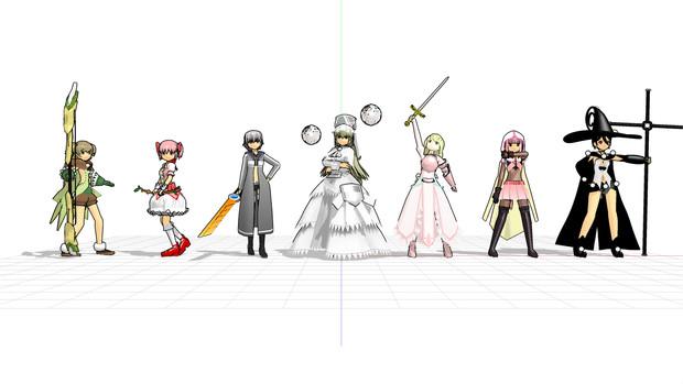 【MMDモデル】まつん式MMDモデル更新点 2020/06/03【まどか☆マギカシリーズ】