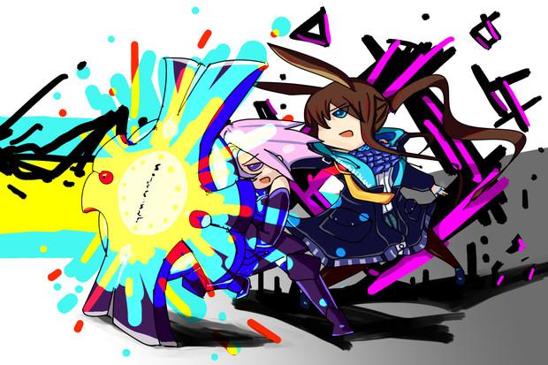 大盾と魔矢