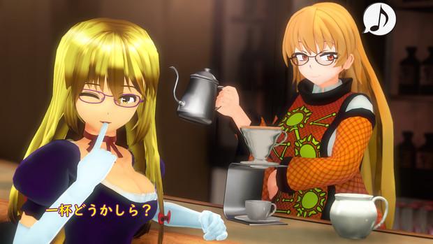 コーヒーとおきゆか(てぇてぇエディション)